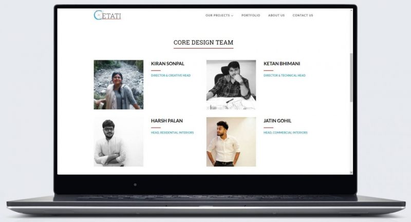 CETATI website. Web design, web development by CLRBLND.